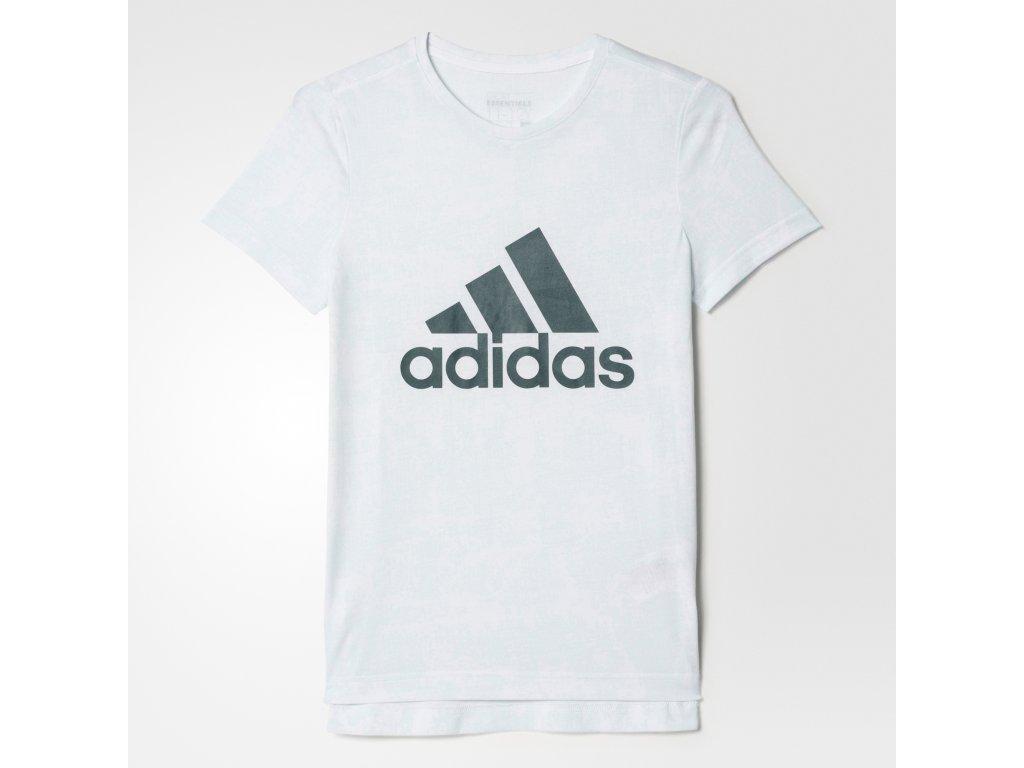 Tričko adidas B48965 YG ESS AOP TEE
