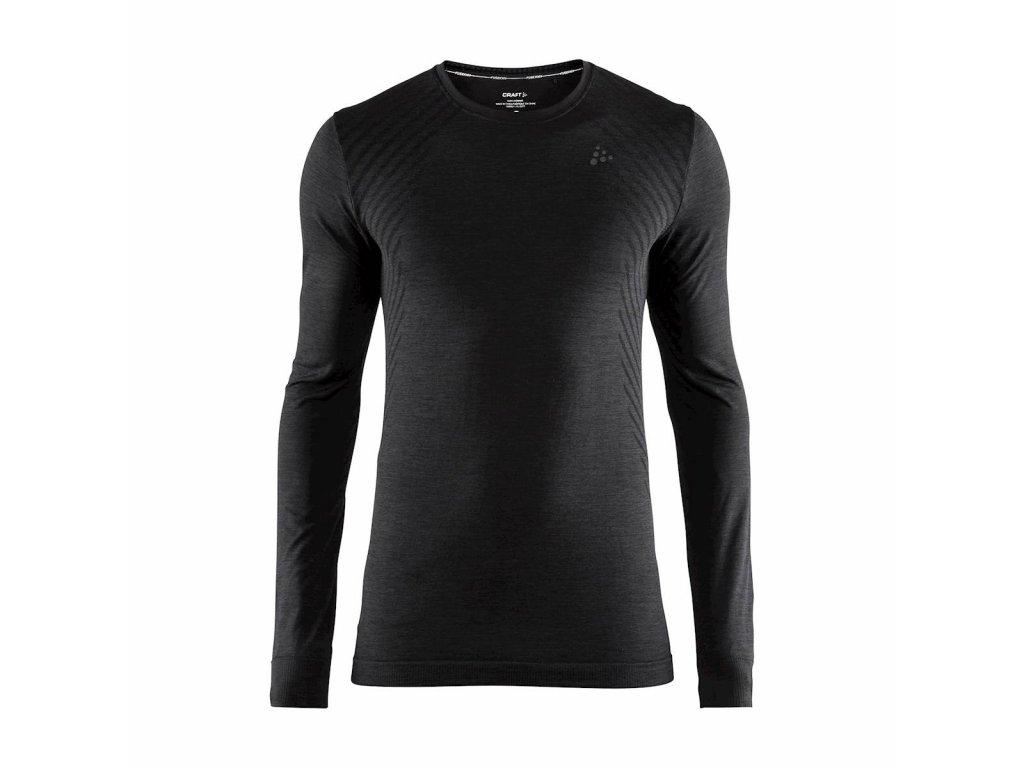 Tričko Craft 1906600 Fuseknit Comfort sivá