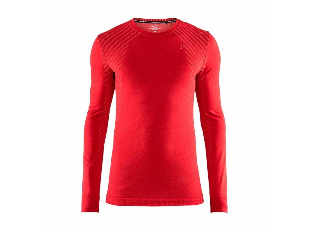 Tričko Craft 1906600 Fuseknit Comfort červena