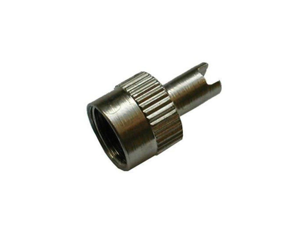 čiapočka na moto ventil kovova