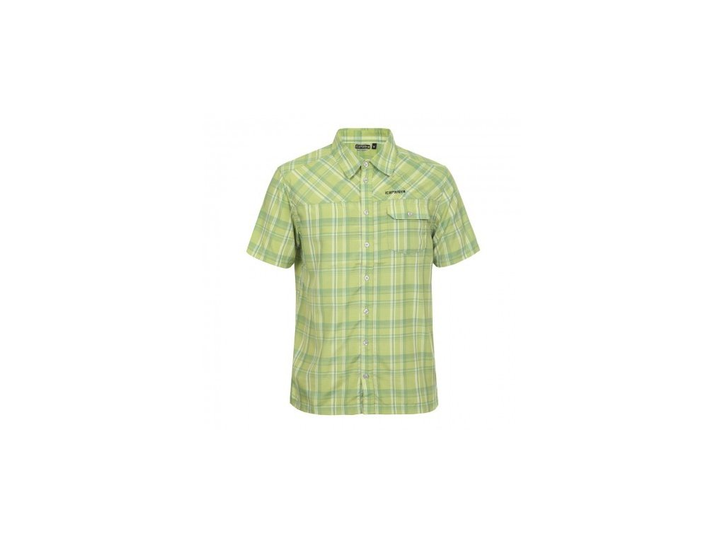 Košeľa Icepeak Mikel zelena