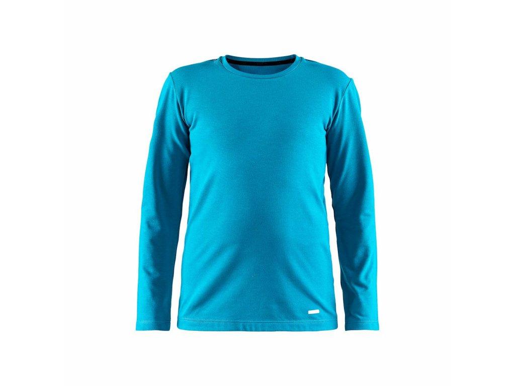 Tričko Craft 1906631 Essential Warm JR blu