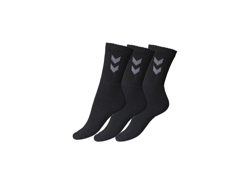 Ponožky Hummel BASIC 3 pack čierna