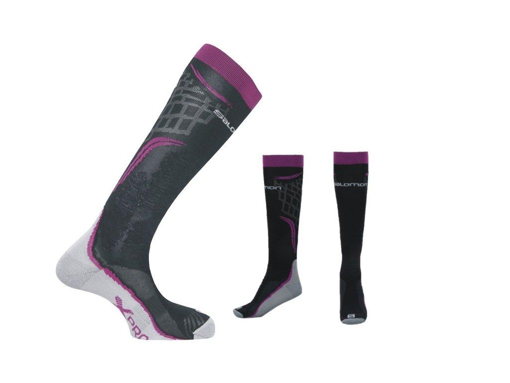 Ponožky Salomon 355940 X PRO WILD