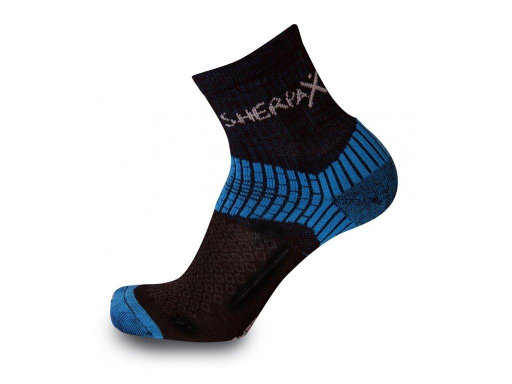 Ponožky Sherpa Chani čierna