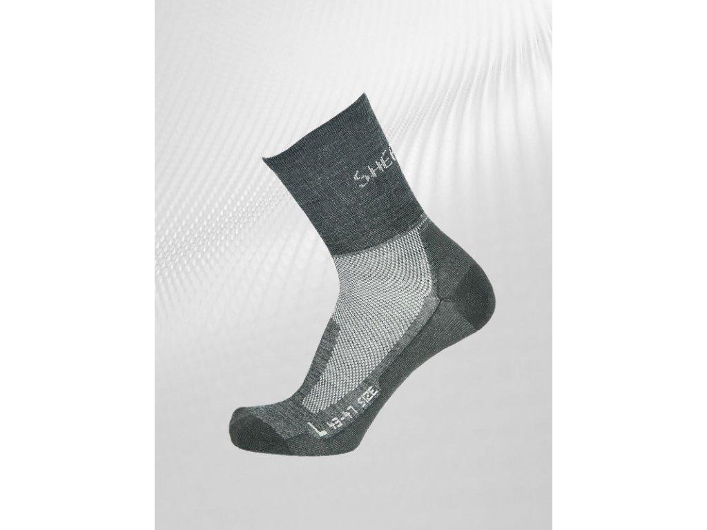 Ponožky Sherpa Chani šeda