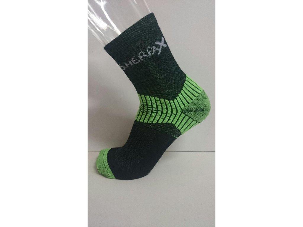 Ponožky Sherpa Chani zelena