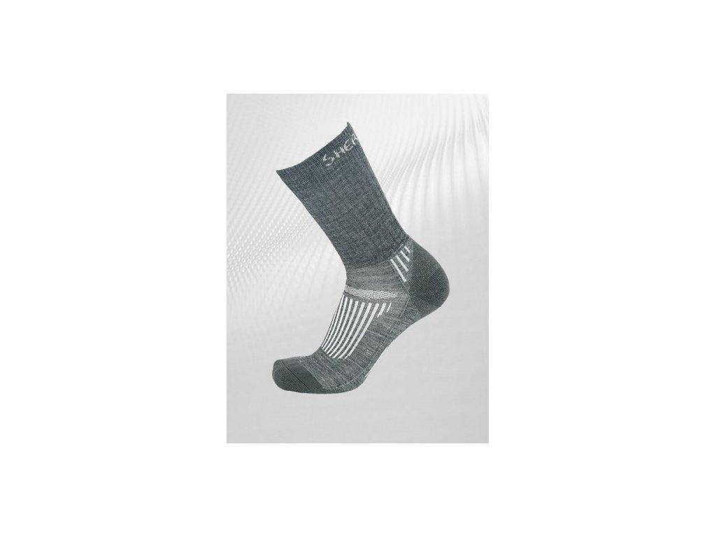 Ponožky Sherpa Juncal šeda
