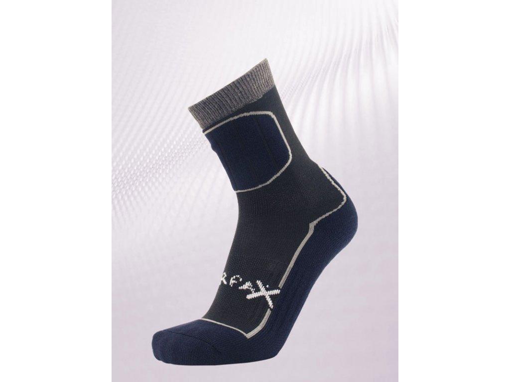 Ponožky Sherpa Pyramid modra