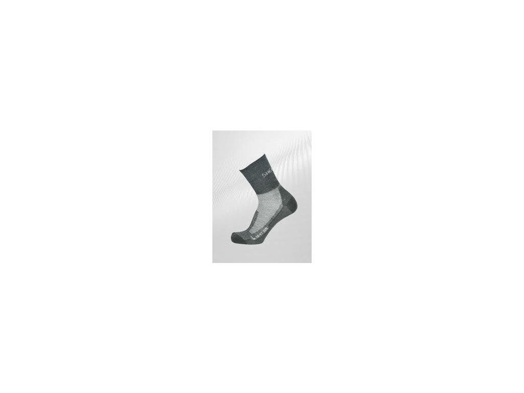 Ponožky Sherpa Solo šeda