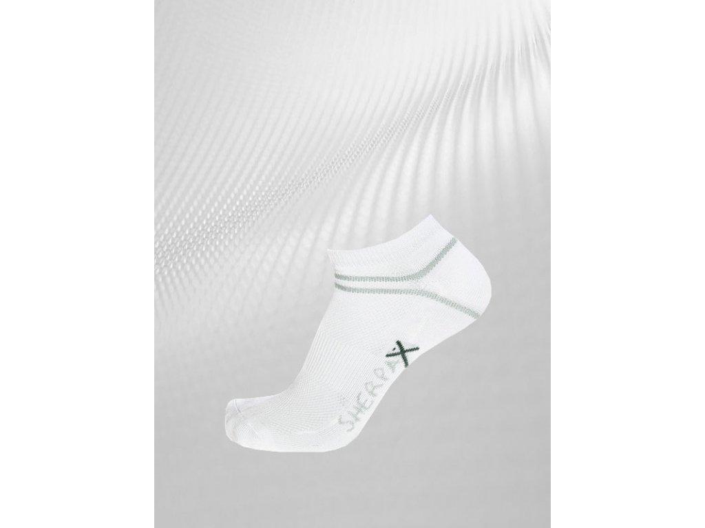 Ponožky Sherpa Tosa biela