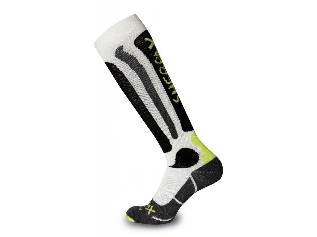 Ponožky Sherpa TRISULI white