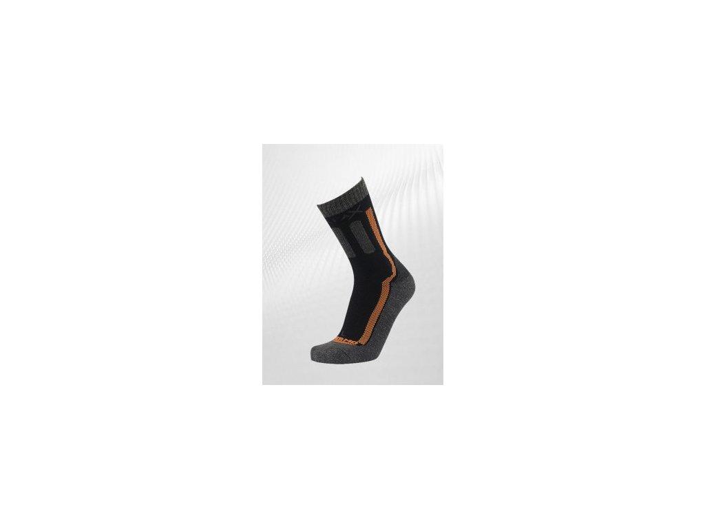 Ponožky Sherpa X DOM čierna