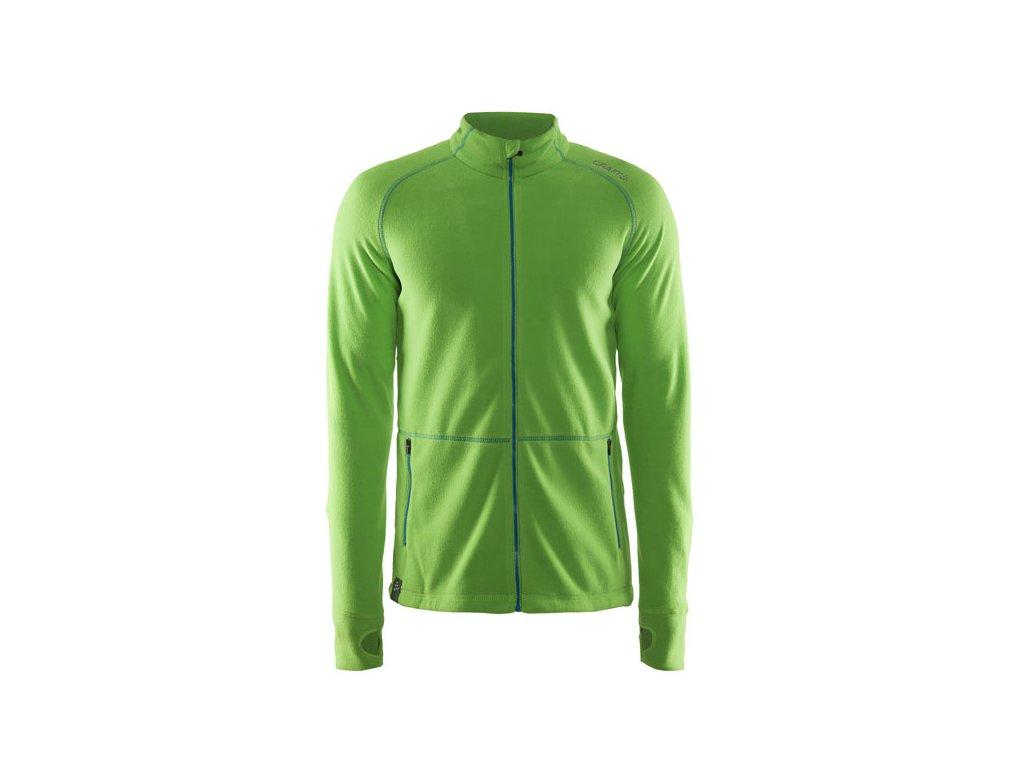 Mikina Craft 1904593 Micro Fleece green