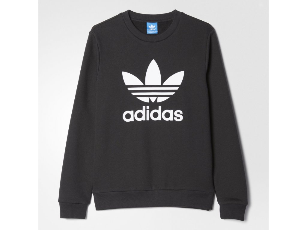 Tričko adidas J TREFOIL CREW