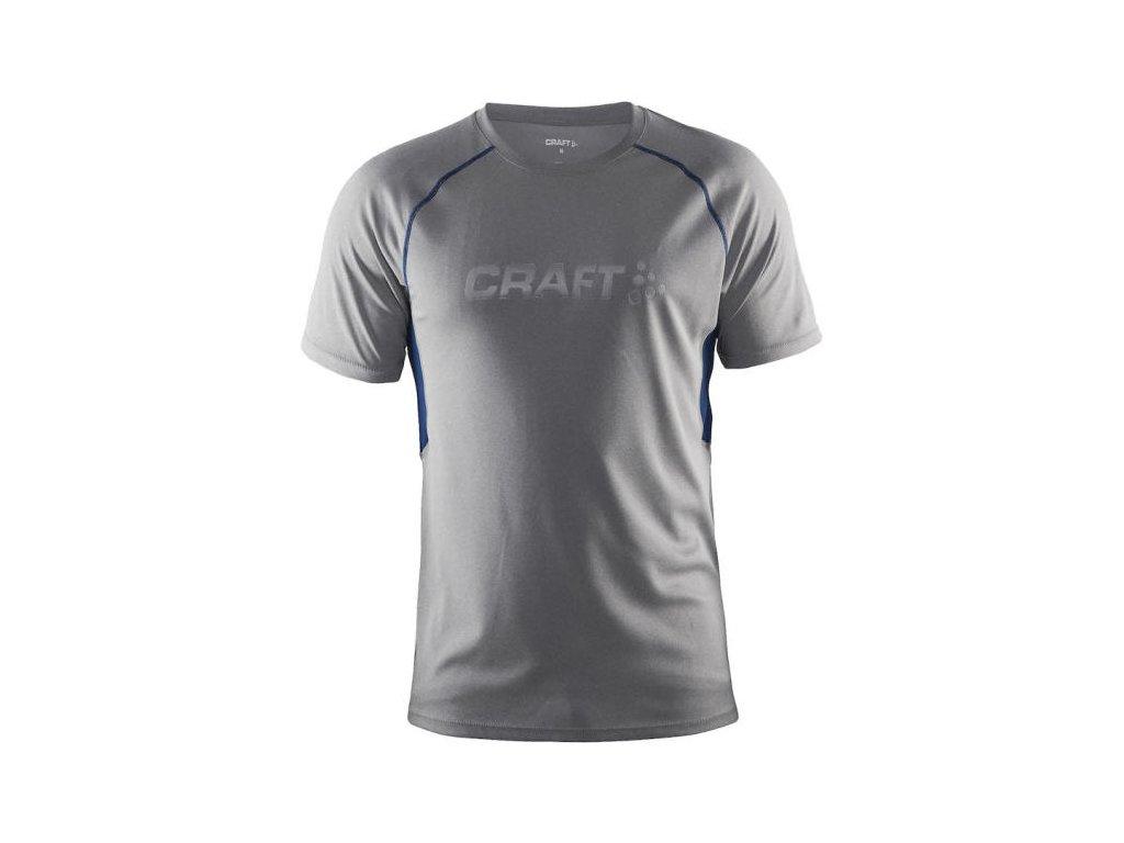 Tričko CRAFT PRIME SS grey