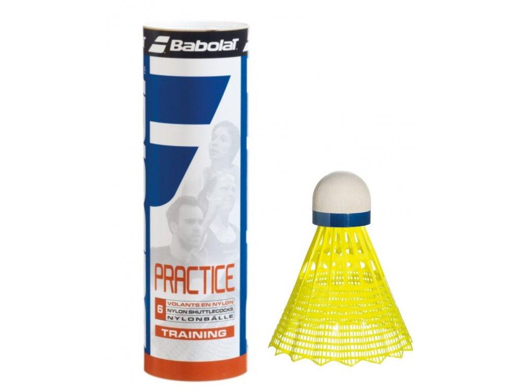 Košiky Babolat PRACTICE yellow 1kus