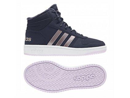 Obuv adidas B75741 HOOPS MID 2.0 K