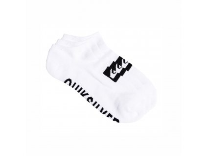 Ponožky Quiksilver 3ANKLE PACK M white