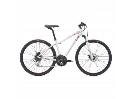 Bicykel LIV ROVE 3 DD Disc GE white 2019