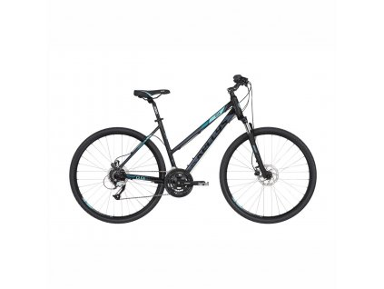 Bicykel Kellys CLEA 90 Black Aqua 2020