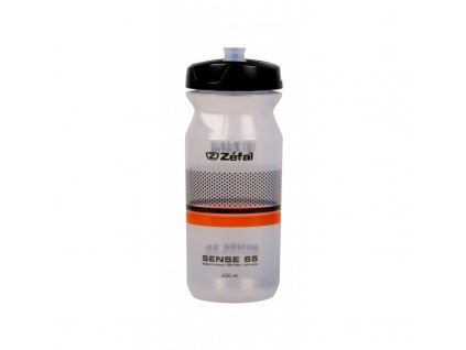 Fľaša Zefal SENSE 650 ml transp.