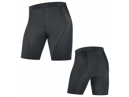 Kraťasy GORE C5 Liner Short Tights+ blac