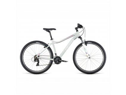 Bicykel Dema TIGRA 1.0 light grey-red 2019 + DARČEK ZDARMA