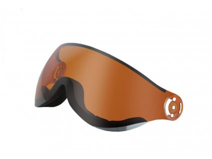 Sklo Blizzard Spare Visor orange mirror
