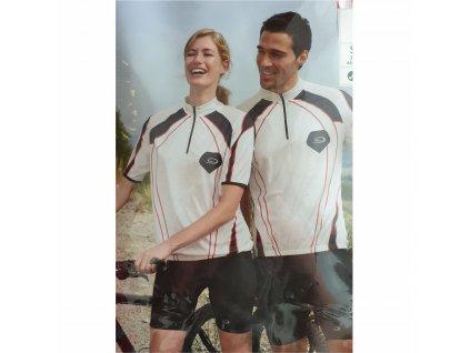 Cyklistický dres white