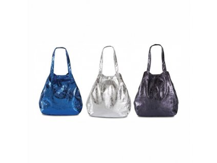 Plážová taška metalic - blue