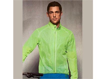 Bunda CRANE cyklisticka MAN neon green