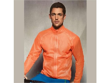 Bunda CRANE cyklisticka MAN neon orange