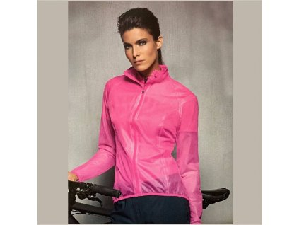 Bunda CRANE cyklisticka WOMAN neon pink