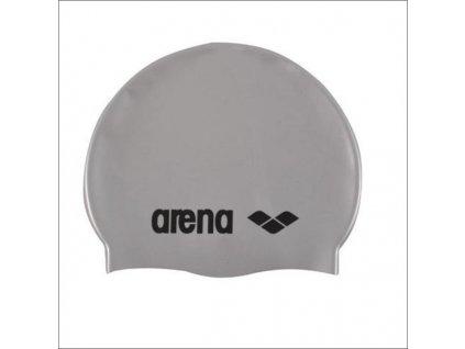 čiapka Arena Classic Silicone JR grey