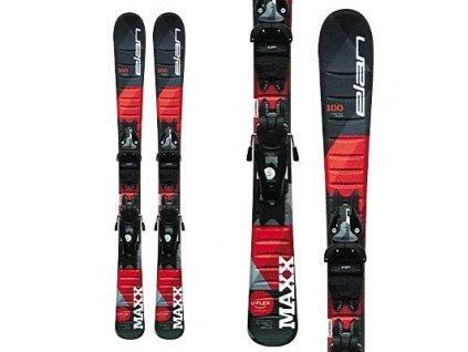 Lyže Elan MAXX QS + EL 7.5 blk/red 20/21