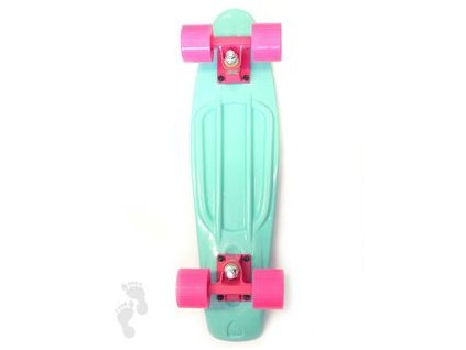 Penny board BASIC blue/pink