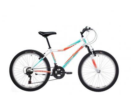 "Bicykel Kenzel ROXIS SF 26"" white orange 2019"