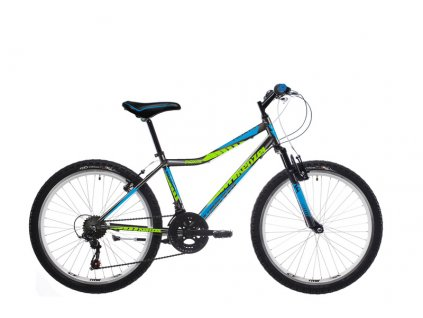 "Bicykel Kenzel ROXIS SF 26"" black green 2019"