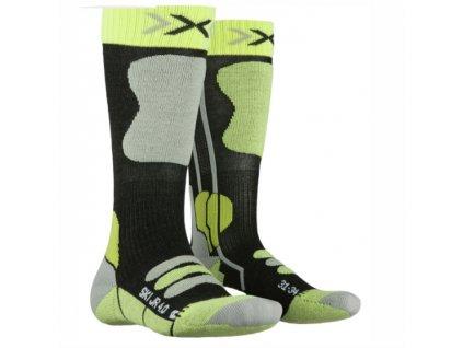 Ponožky X-Bionic SKI JUNIOR 4.0 green 19/20