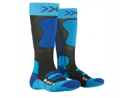 Ponožky X-Bionic SKI JUNIOR 4.0 blue 19/20
