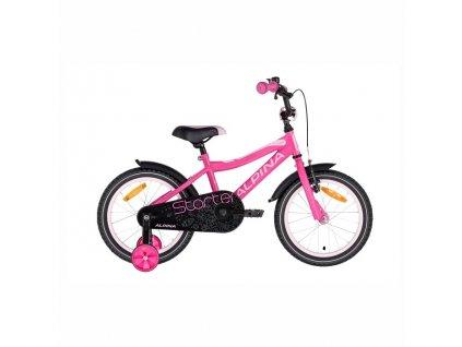 """Bicykel Alpina STARTER 16"""" pink 2021"""