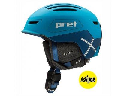Prilba PRET CIRQUE MIPS blue