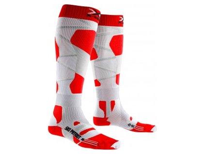Ponožky SKI PATRIOT 4.0 red/white