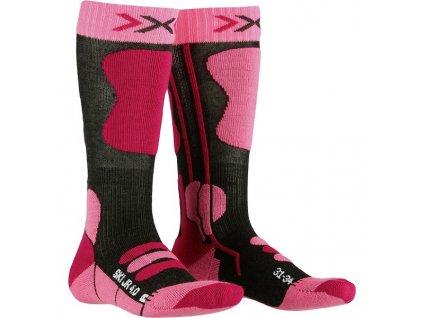 Ponožky X-BIONIC ski junior 4.0 pink