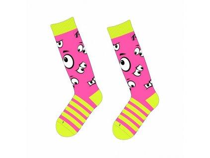Ponožky Relax Happy RSO35 pink