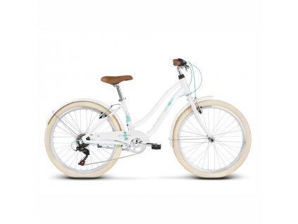 """Bicykel Le Grand Pave JR 24"""" White 2020"""