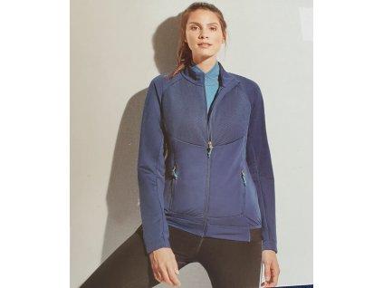 Bežecká softshell bunda blue
