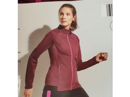 Bežecká softshell bunda pink