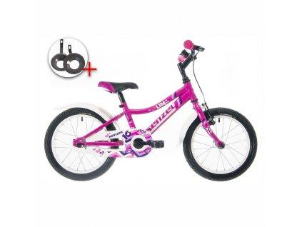 "Bicykel Kenzel LIMA 16"" pink 2020"